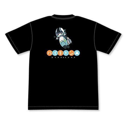 ゆるキャン△ 【きゃらいど】 リンのバイキャン バックプリントTシャツ Mサイズ