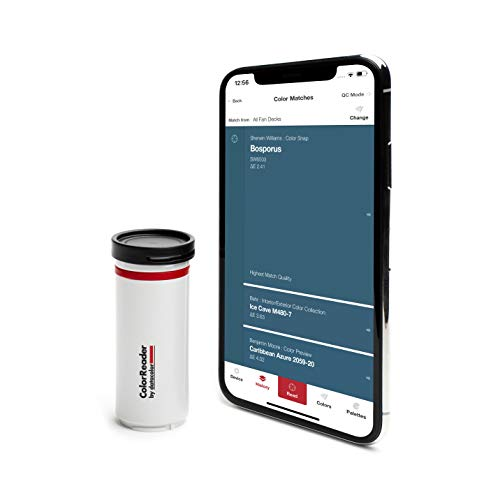 Datacolor ColorReader  Identify Paint Color Instantly - Color Matching Tool - Designed For DIY, Painters, Designers and Facility Managers