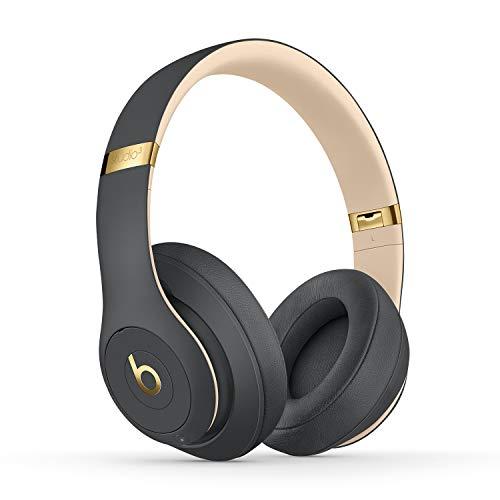 Beats Studio3 Wireless con cancelación de Ruido - Auriculares supraaurales - Chip Apple W1, Bluetooth de Clase 1, cancelación Activa del Ruido, 22 Horas de Sonido ininterrumpido - Oro/Gris