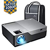 VANKYO Performance V600 Native 1080P LED Projector, 6500 Lux HDMI Projector with 300' Display Compatible with TV Stick, HDMI, VGA, USB, Laptop, iPhone Android for PowerPoint Presentation
