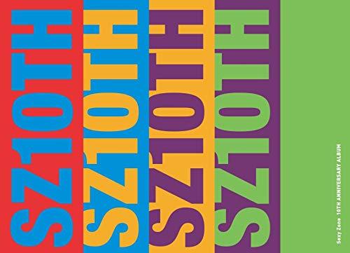 【メーカー特典あり】 SZ10TH (初回限定盤B)(2CD+DVD)(3方背スリーブケース仕様)(予約購入先着特典:ミニフォトカード5枚セット)