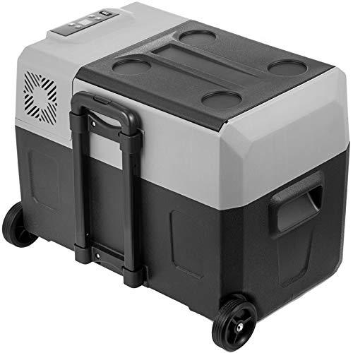 GIOEVO Mini Frigorifero Portatile per Auto 30L con Schermo LCD Digitale Congelatore per Frigorifero Portatile 220V