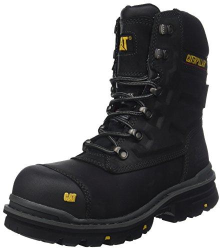 Caterpillar Premier 8 WR TX CT S3 HRO SRC, Zapatos de Seguridad Hombre, Negro (Mens Black Mens Black), 44 EU