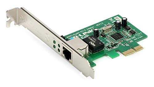 TP-Link TG-3468 Scheda di Rete PCI Express 10/100/1000 Mbps, 32-bit, Tecnologia Wake-on-LAN, Compatibile con gli Standard IEEE 802.3, IEEE 802.3u e IEEE 802.3ab