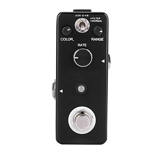 Guitar Pedals supply isolated power Mini Musical Instrument Flanger Black Guitar Effects Pedal for Guitar Part Accessories by RiToEasysports,