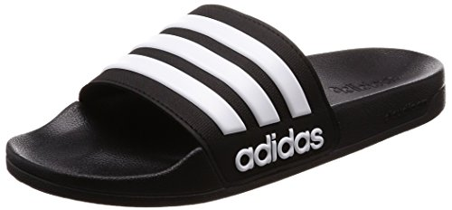 adidas Adilette Shower, Chanclas para Hombre, Negro (Core Black/Footwear White/Core Black 0), 42 EU