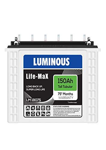 Luminous Life Max LM 18075 150 AH Battery