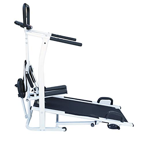 Healthex Body Gym Manual Treadmill for Home Use 4 in 1