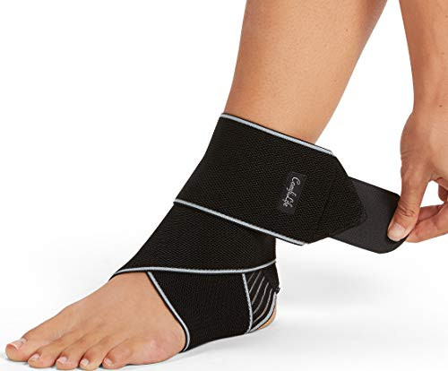 ComfiLife Ankle Brace for Men & Women – Adjustable Compression Ankle...