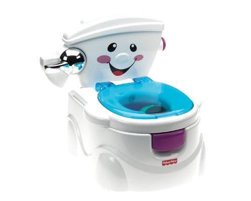 Fisher Price La Mia Prima Toilette, Vasino per Bambini con 2 Diverse modalit di Utilizzo e Tanti...