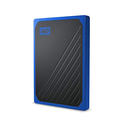 WD My Passport Go 1 TB, disco duro sólido externo - acabado cobalto