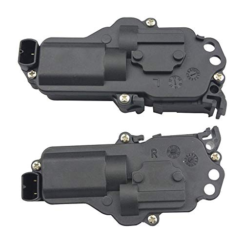 Power Door Lock Actuator Right and Left Side - Compatible with F150 F250 F350 F450 F550, Excursion, Expedition, Mustang, Mazda, Mercury - Replaces # 6L3Z25218A43AA, 6L3Z25218A42AA
