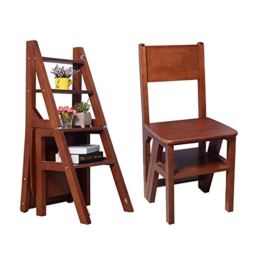 Organizedlife Brown Convertible Ladder Chair...