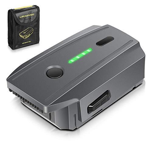 Batteria Mavic Pro, ENEGON 11,4V 3830mAh Batteria di Ricambio Intelligente per Volo LiPo + Borsa per...