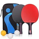 Raquettes de Tennis de Table Ping-Pong, Professionnel Table Tennis Raquet...