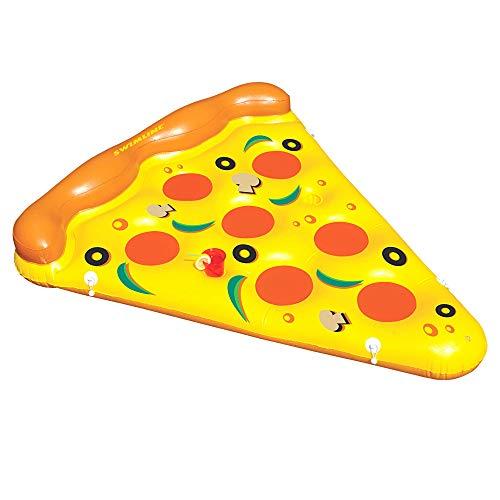 Swimline Inflatable Pizza Slice Pool Float, Multicolor