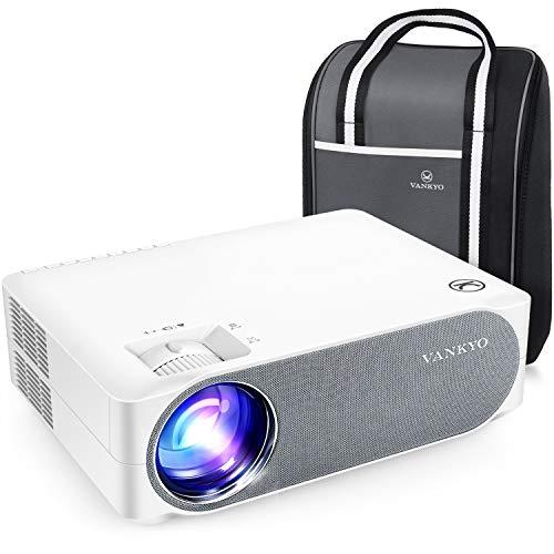 """VANKYO Videoproiettore 6800 Lumen, Proiettore 1080P Nativo Full HD Support 4K, Display da 300"""" 50° Correzione, con..."""