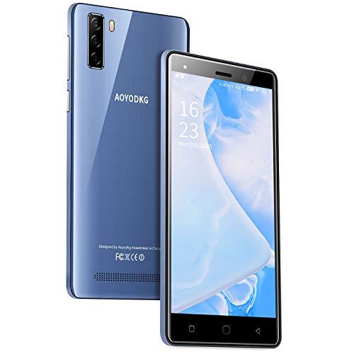 4G Téléphone Portable Debloqué ,Smartphone Android 9.0 Pas Cher , Écran 5.0 Pouces 1Go RAM+16Go ROM/128Go,Double Caméra 8MP+5MP, Dual SIM Mobile GPS