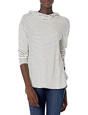Close-but-comfortable fit with easy movement Incredibly soft and comfortable Supersoft Terry with a gently brushed back Crossover neckline An Amazon brand