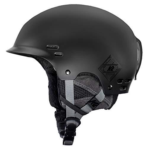 K2 Skis Herren Thrive Black Skihelm, schwarz, L/XL