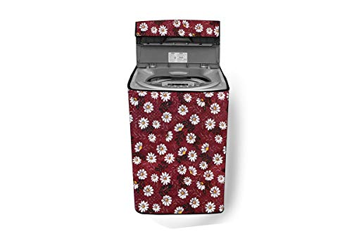 Stylista Washing Machine Cover Compatible for LG 7.0 kg Fully-Automatic Top Load T8081NEDLJ Color Multi