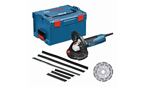 Bosch Professional Ponceuse à béton Filaire GBR 15 CAG (1500 W, 9300 tours/min, pack d'accessoires, L-BOXX)