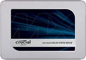 Crucial 250Go CT250MX500SSD1 SSD interne MX500-jusqu'à 560 Mo/s (3D NAND, SATA, 2,5 pouces)