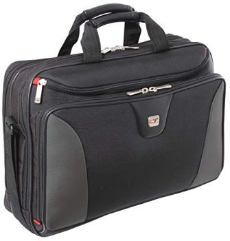 """Large 17 Inch Laptop Pilot Case - Cirrus by Gino Ferrari with 17"""" (43cm) Padded Laptop Compartment 