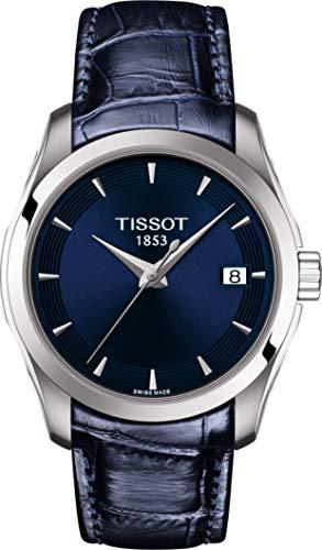 Tissot Damen-Uhren Analog Quarz One Size Leder 87573834