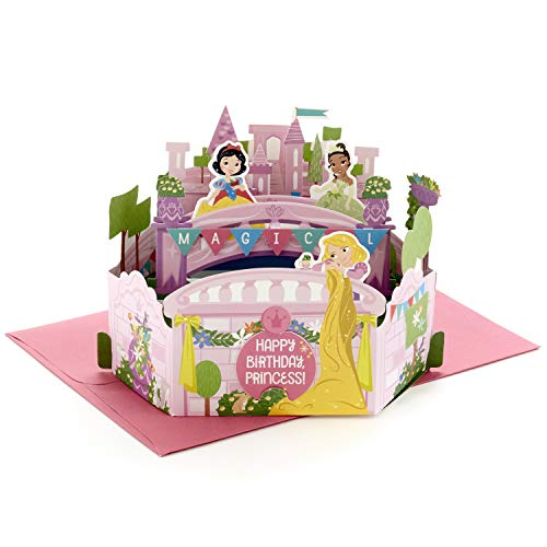 Hallmark Paper Wonder Pop Up Birthday Card for Girls (Disney...