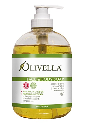 Olivella Face and Body Soap Made from Italian...
