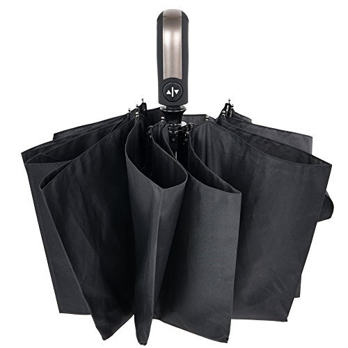 Seebo 折り畳み傘 ワンタッチ自動開閉 10本骨 耐風撥水 晴雨兼用 軽量 210T高密度NC布 収納ケース付
