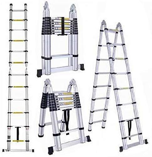 7. Oshion Telescoping Extension Ladder