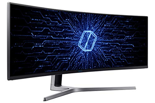 Samsung LC49HG90DMUXEN 48.9-inch Ultra Wide Curved Monitor (Black) 4