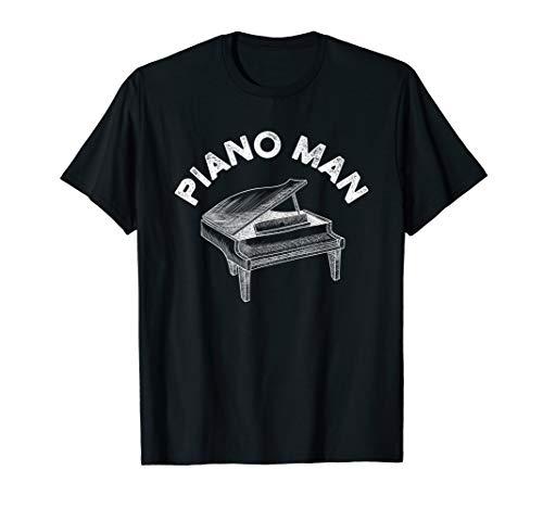 Baby Grand Piano Man Teacher Student Pianist Gifts T-Shirt
