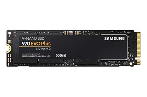 SSD 500GB SAMSUNG 970 EVO PLUS M.2 2280 PCIe Gen3. X4 NVMe 1.3 64L V-NAND MLC - Modelo MZ-V7S500B/AM