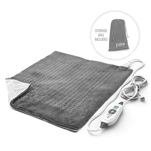 Pure Enrichment PureRelief XXL Ultra-Wide Heating Pad for Back Pain and Cramps -...