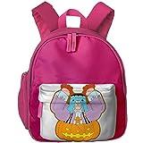 XCNGG Mochila para niños Mochila para niños Bolsos para niños JierJi Child Lightweight Backpacks Halloween Franky Graphic Shoulder Bag For Preschool