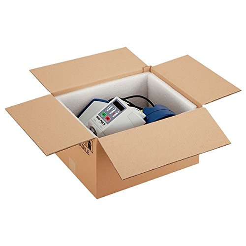 Propac Z-BOX473136 Scatola Cartone Due Onde Avana, 47 x 31 x 36 cm, Set di 15