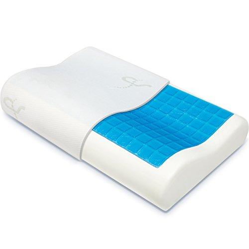 Mack set van 2 kussens | 40 x 80 cm | Microfiber vulling | Geschikt voor mensen met een allergie