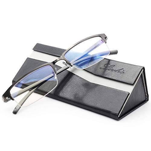 livho Blue Light Blocking Computer Glasses,Anti Eyestrain UV...