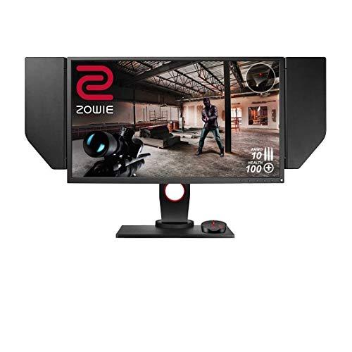"BenQ ZOWIE XL2546 e-Sports Gaming Monitor con DyAc, 24.5"", 240 Hz, FHD, DP, Nero eQualizer, Regolabile in Altezza, S Switch, Nero eQualizer, Dark Grey"