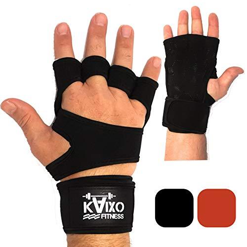 KAIXO FITNESS Guanti Crossfit per Allenamento, Sollevamento Pesi, Calisthenics, Bodybuilding e...