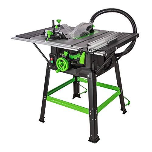 Evolution Power Tools - Scie sur Table Polyvalente Fury 5-S, 255 mm (230 V)