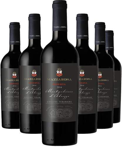 Vino Rosso Montepulciano d'Abruzzo Riserva DOCG 2015 - Cantine Mazzarosa - Box 6 bottiglie 0,75 L