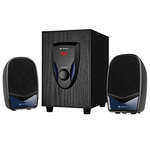 Zebronics Zeb-BT2220 2.1 Speaker Supporting Bluetooth and Aux