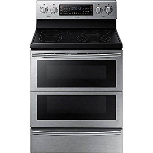Samsung NE59J7850WS 30 Self-Cleaning Freestanding Electric...