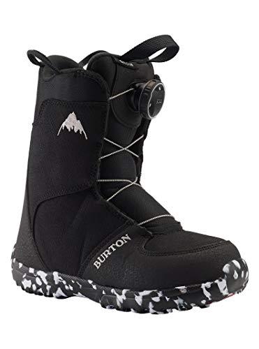 Burton Grom Boa, Scarponi da Snowboard Unisex Bambino, Black, 11C