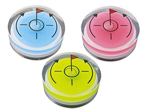 水平器マーカー 3色組