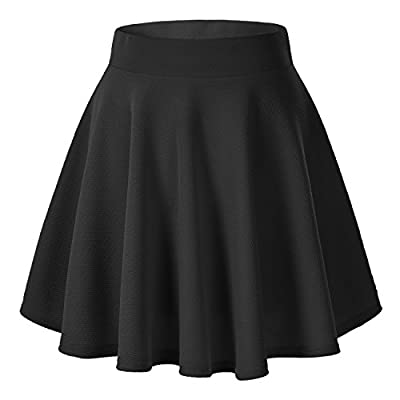 Stretchy fabric for comfortable fit Fabric: 95% polyester +5% spandex Occasion: casual outtings, school, office, dates, and parties any occasion is perfect Asian size is usually smaller than western size, so make sure you have checked the following s...